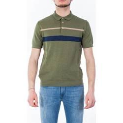 Abbigliamento Uomo Polo maniche corte Mc Lauren GIASPER/2 VERDE Polo Uomo Uomo Verde Bosco Verde Bosco