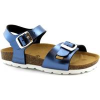 Scarpe Bambina Sandali Grunland GRU-E19-SB0393-BL-a Blu