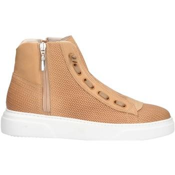 Scarpe Uomo Sneakers alte Mg Magica U19122P PELLE CUOIO Cuoio