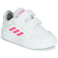 Scarpe Bambina Sneakers basse adidas Performance VECTOR I Bianco / Rosa