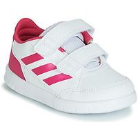 Scarpe Bambina Sneakers basse adidas Performance ALTASPORT CF I Bianco / Rosa
