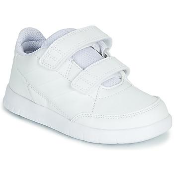 Scarpe Unisex bambino Sneakers basse adidas Performance ALTASPORT CF I Bianco