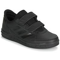 Scarpe Unisex bambino Sneakers basse adidas Performance ALTASPORT CF K Nero