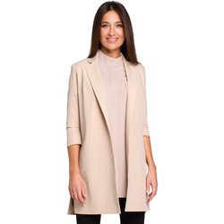 Abbigliamento Donna Giacche Moe M439 Abito blazer senza maniche - nero
