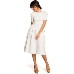 Abbigliamento Donna Gilet / Cardigan Be B120 Vestito midi fit and flare - rosa
