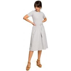 Abbigliamento Donna Giacche Be B120 - Vestito midi fit and flare - nero