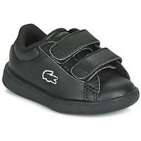Scarpe Unisex bambino Sneakers basse Lacoste CARNABY EVO BL 3 SUI Nero