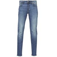 Abbigliamento Uomo Jeans slim G-Star Raw 3301 SLIM Blu / Vintage / Medium
