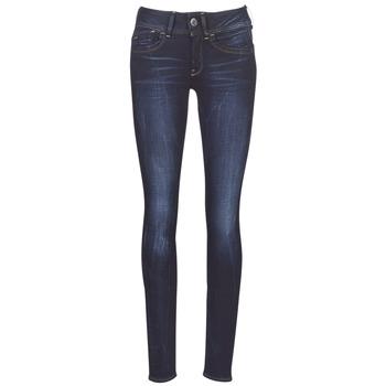 Abbigliamento Donna Jeans skynny G-Star Raw LYNN MID SKINNY WMN Blu / Blue