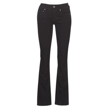 Abbigliamento Donna Jeans bootcut G-Star Raw MIDGE MID BOOTCUT WMN Nero