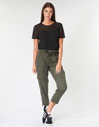 Abbigliamento Donna Pantaloni 5 tasche G-Star Raw CHISEL BF PANT WMN Kaki