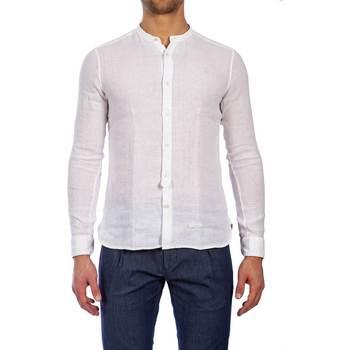 Abbigliamento Uomo Camicie maniche lunghe Tintoria Mattei T70 CT5 AA1 BIANC Camicia Uomo Uomo Bianco Bianco