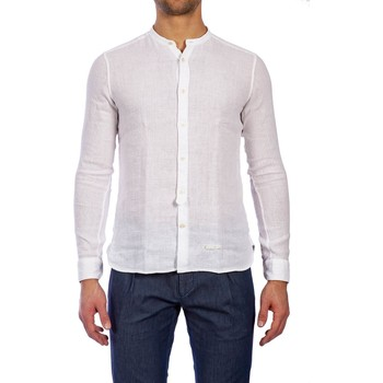 Abbigliamento Uomo Camicie maniche lunghe Tintoria Mattei T70 CT5 AA1 BIANC Bianco