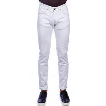 Abbigliamento Uomo Jeans slim Michael Coal DAVID 2598W280 LUNG Bianco