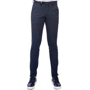 Abbigliamento Uomo Chino Michael Coal RICKY 2563 NAVY LUNG Blu