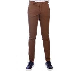 Abbigliamento Uomo Chino Michael Coal MARLON 2563 LUN MAR Pantalone Uomo Uomo Marrone Marrone