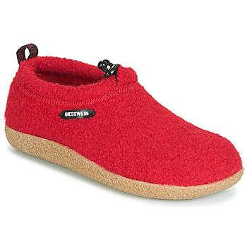 Scarpe Donna Pantofole Giesswein VENT Rosso