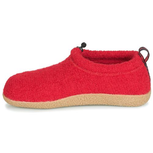 Scarpe Gratuita Donna Rosso Consegna 7499 Giesswein Vent Pantofole OPZiTkXuw