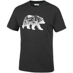 Abbigliamento Uomo T-shirt maniche corte Columbia Baker Brook Nero