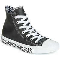 Scarpe Donna Sneakers alte Converse CHUCK TAYLOR ALL STAR VLTG LEATHER HI Nero