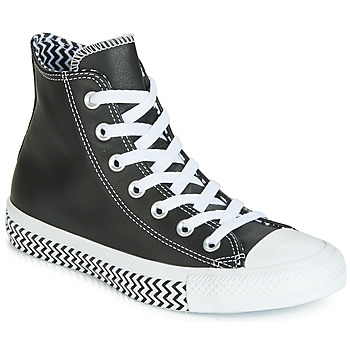 Scarpe Donna Sneakers alte Converse CHUCK TAYLOR ALL STAR VLTG LEATHER HI Nero