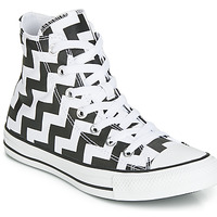 Scarpe Donna Sneakers alte Converse CHUCK TAYLOR ALL STAR GLAM DUNK CANVAS HI Nero / Bianco