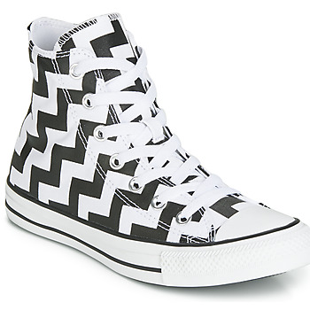 Scarpe Donna Sneakers alte Converse CHUCK TAYLOR ALL STAR GLAM DUNK CANVAS HI Nero / Bianco