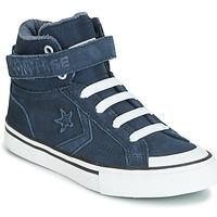 Scarpe Unisex bambino Sneakers alte Converse PRO BLAZE STRAP SPACE RIDE SUEDE HI Blu
