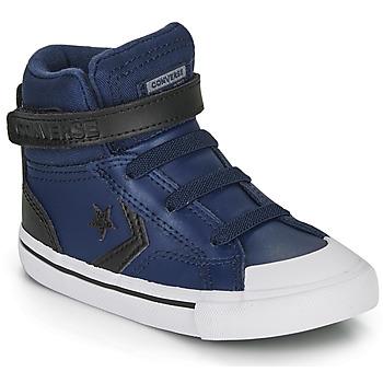 Scarpe Unisex bambino Sneakers alte Converse PRO BLAZE STRAP MARTIAN LEATHER HI Blu / Nero