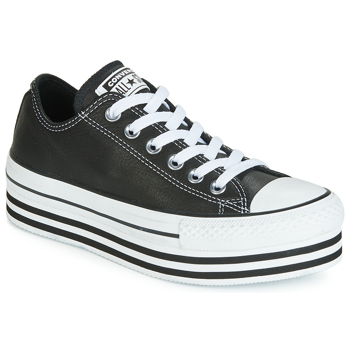 CHUCK TAYLOR ALL STAR LAYER BOTTOM LEATHER OX