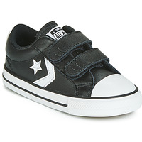 Scarpe Unisex bambino Sneakers basse Converse STAR PLAYER EV 2V  LEATHER OX Nero