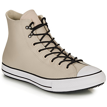 Scarpe Sneakers alte Converse CHUCK TAYLOR ALL STAR WINTER LEATHER BOOT HI Beige