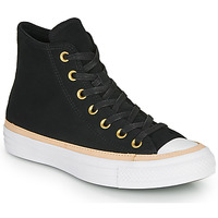 Scarpe Sneakers alte Converse CHUCK TAYLOR ALL STAR VACHETTA LEATHER HI Nero