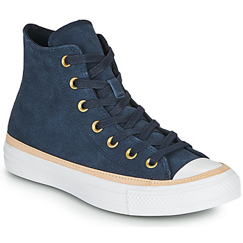 Scarpe Donna Sneakers alte Converse CHUCK TAYLOR ALL STAR VACHETTA LEATHER HI Marine