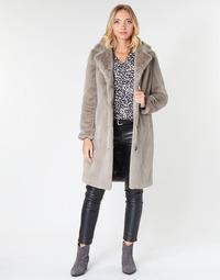 Abbigliamento Donna Cappotti Oakwood CYBER Nero / Beige