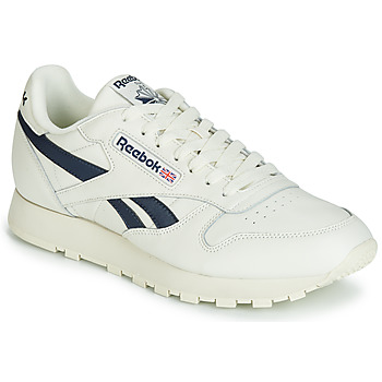 Scarpe Sneakers basse Reebok Classic CL LEATHER MU Bianco / Nero