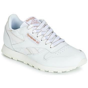 Scarpe Bambina Sneakers basse Reebok Classic CLASSIC LEATHER J Bianco / Glitter