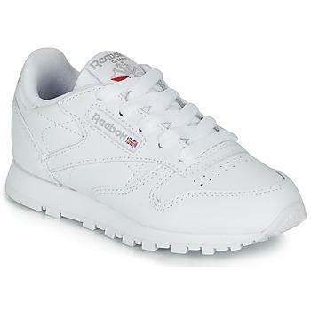 Scarpe Unisex bambino Sneakers basse Reebok Classic CLASSIC LEATHER C Bianco