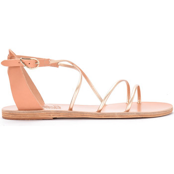 Scarpe Donna Sandali Ancient Greek Sandals Sandalo Meloivia in pelle platino Oro