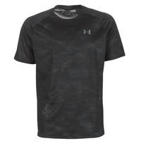 Abbigliamento Uomo T-shirt maniche corte Under Armour TECH 2.0 SS PRINTED Nero