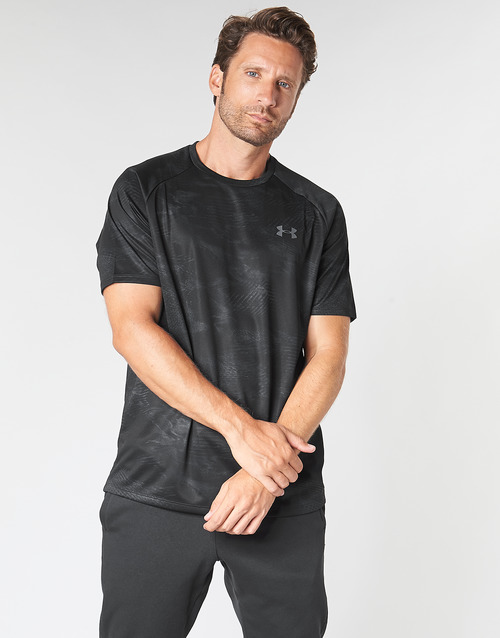 2 Ss Corte shirt 0 Printed Tech Nero T Uomo Under Armour Maniche n0PwX8Ok