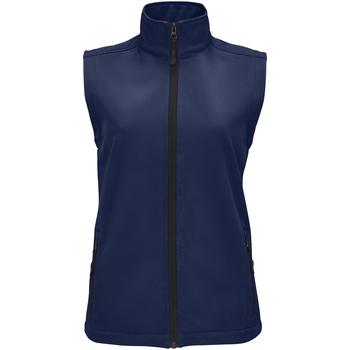 Abbigliamento Donna Gilet / Cardigan Sols RACE BW WOMEN Azul