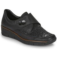 Scarpe Donna Sneakers basse Rieker 537C0-02 Nero