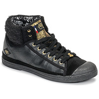 Scarpe Donna Sneakers alte Le Temps des Cerises BASIC 03 Nero