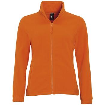 Abbigliamento Donna Felpe in pile Sols NORTH POLAR WOMEN Naranja