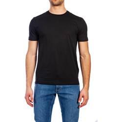 Abbigliamento Uomo T-shirt maniche corte Calvin Klein Jeans K10K103333 013 BLACK T-shirt Uomo Uomo Nero Nero