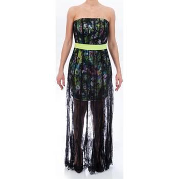 Abbigliamento Donna Abiti lunghi Allure 1411-MULTIC Multicolor+nero