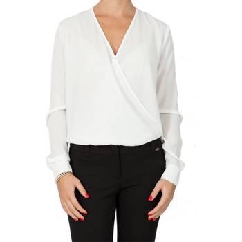 Abbigliamento Donna Camicie Liu Jo C65122T1537-14300 Camicia Donna B.co B.co