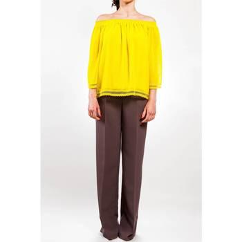 Abbigliamento Donna Pantalone Cargo Liu Jo C17319T1866-FANGO Pantalone Donna Donna Fango Fango