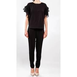 Abbigliamento Donna Pantalone Cargo Liu Jo C17320T1866-222-NERO Pantalone Donna Donna Nero Nero